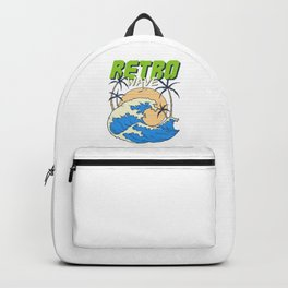 Retro Wave Backpack
