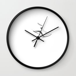 All About That Pace Track Field Runner Triathlete Wall Clock