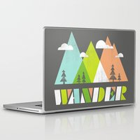 wander Laptop & iPad Skins featuring Wander  by Jenny Tiffany
