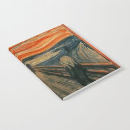 The Scream - Edvard Munch Notebook