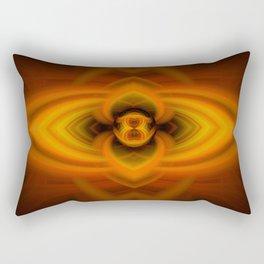 Fire Eye Rectangular Pillow