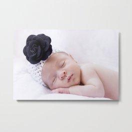 Baby girl Metal Print