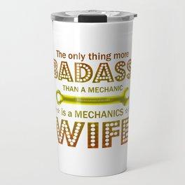 Mechanic's Wife Travel Mug