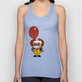 It Cat Clown  Funny Unisex Tank Top