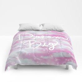 Dream Big in Pink Comforters