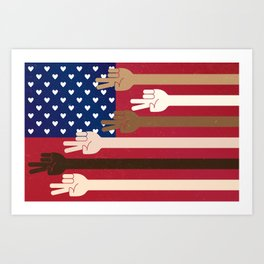 United Together Art Print