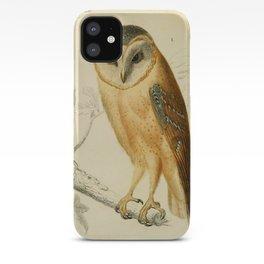 Naturalist Barn Owl iPhone Case
