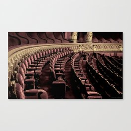 The Opera of Paris Canvas Print