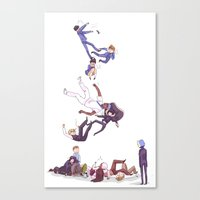 durarara Canvas Prints featuring trust me not by rhymewithrachel