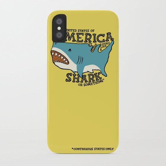 America…   it kinda looks like a shark or something iPhone Case