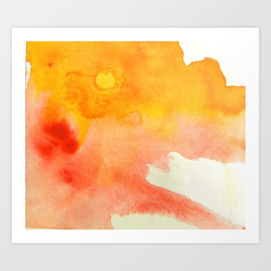 Sunset XVI Art Print