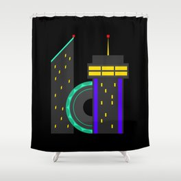 ICT Wichita, KS Shower Curtain
