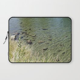 The Calm Along the River Laptop Sleeve