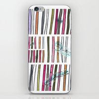 swimming iPhone & iPod Skins featuring Swimming by Lidia Ganhito