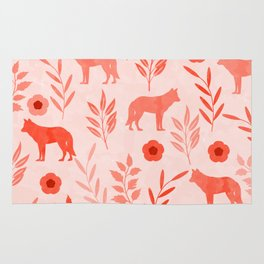 Forest Animal and Nature II Rug