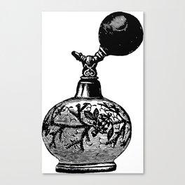 Vintge Perfume Atomizer Canvas Print