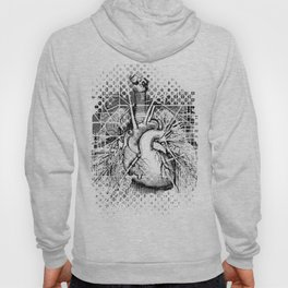Map of the Human Heart Hoody
