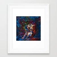 "coachella Framed Art Prints featuring ""Coachella"" by ZABLIME"