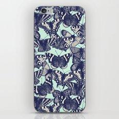 butterfly pale mint iPhone & iPod Skin