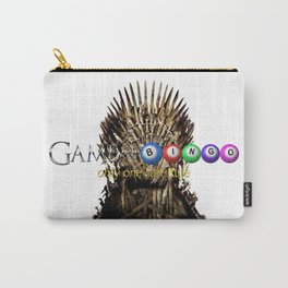 Game of Bingo Iron Throne Carry-All Pouch