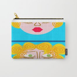 bbnyc blonde girl 2 Carry-All Pouch