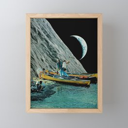 Moon River Framed Mini Art Print