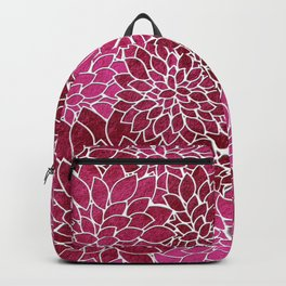 Floral Abstract 26 Backpack