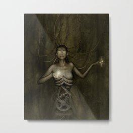 Electric Medusa Metal Print