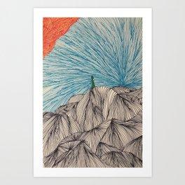 The Wandere Art Print