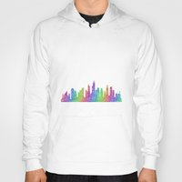chicago Hoodies featuring Chicago by David Zydd