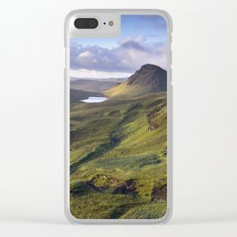 The Lie of the Land Clear iPhone Case