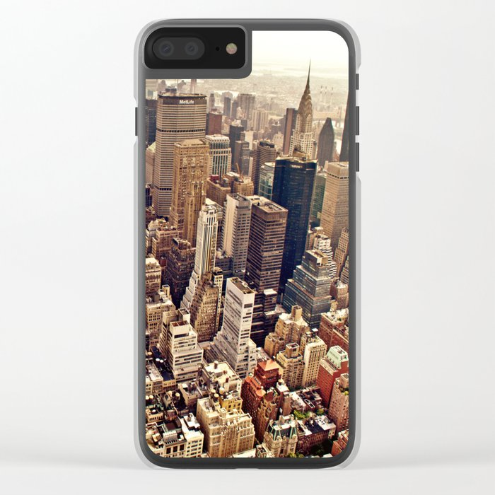 New York City Clear iPhone Case