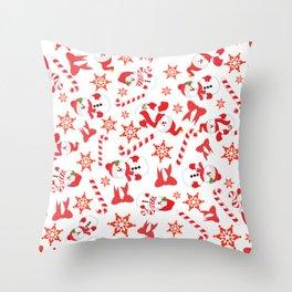 A Little Bit Of Christmas Throw Pillow