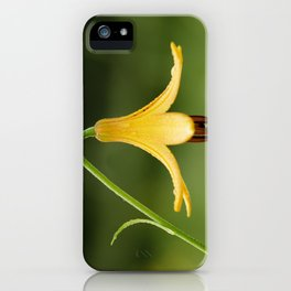 Canada Lily iPhone Case