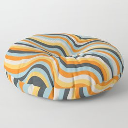 Dancing Lines Floor Pillow