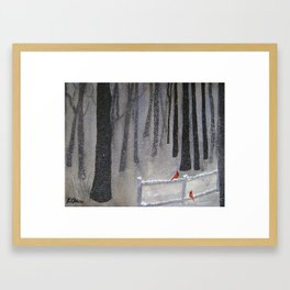 """""""Just Us Two"""" Framed Art Print"""