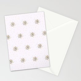 Raining Flowers Stationery Cards