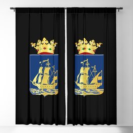 Coat of arms of IJlst Blackout Curtain