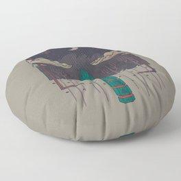 The Lost Obelisk Floor Pillow