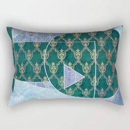 Vintage Nautilus Rectangular Pillow