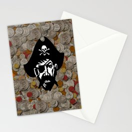 Captain Kidd II (The Rude Pirate) Stationery Cards