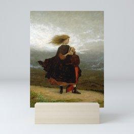 Eastman Johnson The Girl I Left Behind Me Mini Art Print
