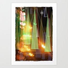 Christmas almost here Art Print