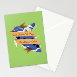 The Flow of Time is Always Cruel Stationery Cards