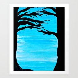 Crooked Still Art Print