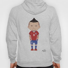 Arturo Vidal - Chile - World Cup 2014 Hoody