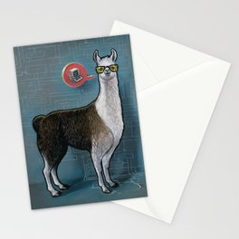 OK Llama Stationery Cards