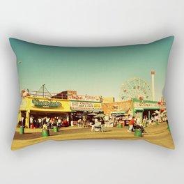 Coney Island luna park, New York Rectangular Pillow