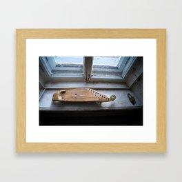 A Karelian 10-string Kantele Framed Art Print