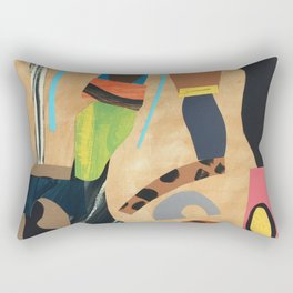 Acrobats Rectangular Pillow